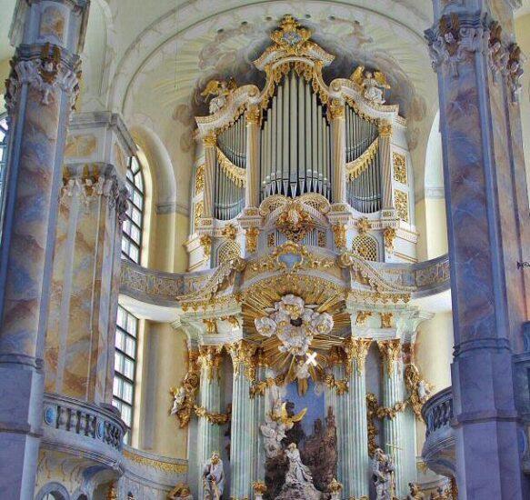 Organo de la iglesia Frauenkirche de Dresde
