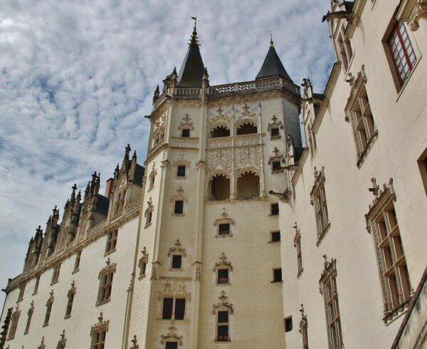 Palacio en el castillo de los Duques de Bretaña en Nantes