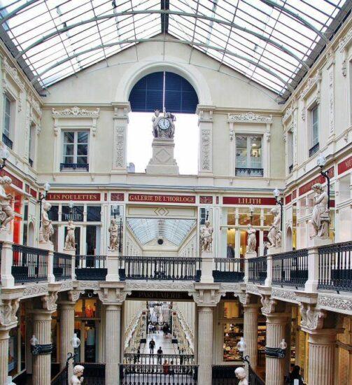 Pasaje Pommeraye en Nantes