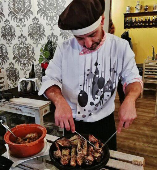 Restaurante La Meancera en El Gasco en Las Hurdes