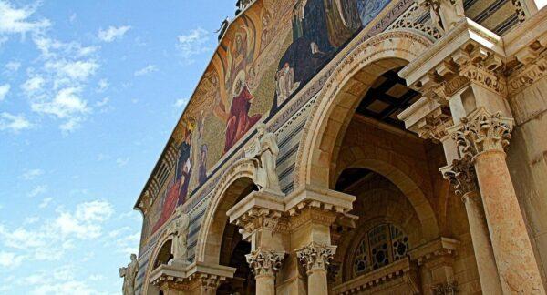 Basílica de Getsemaní en el Huerto de los Olivos en Jerusalén