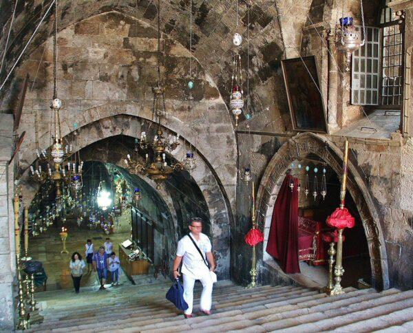 Tumba de la Virgen María en Getsemaní en Jerusalén