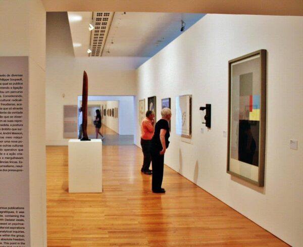 Museo Colección Berardo en Belem en Lisboa
