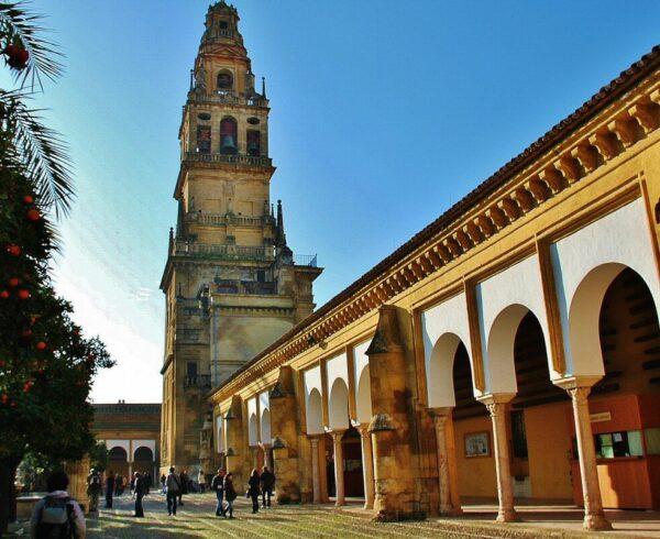 Patio de los Naranjos de la antigua Mezquita de Córdoba