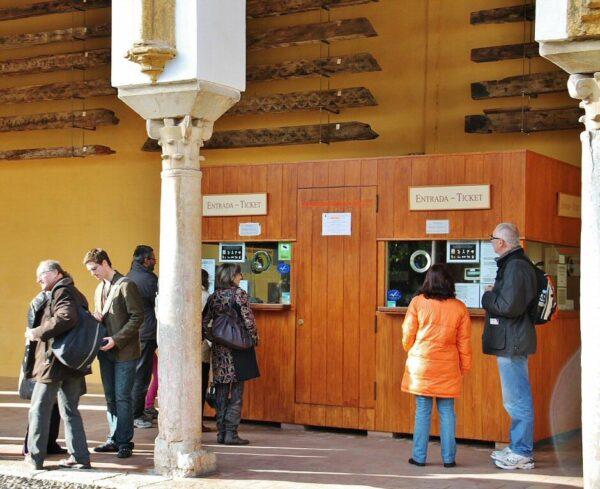 Taquillas de la antigua Mezquita de Córdoba