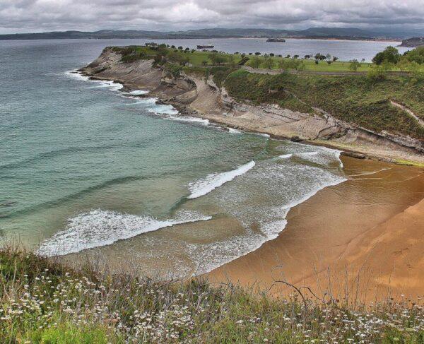 Playa de Matalascañas en Santander