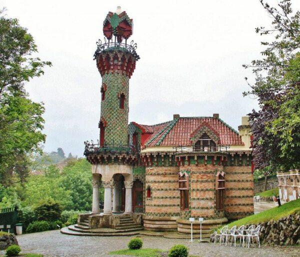 El Capricho de Gaudí en Comillas en Cantabria