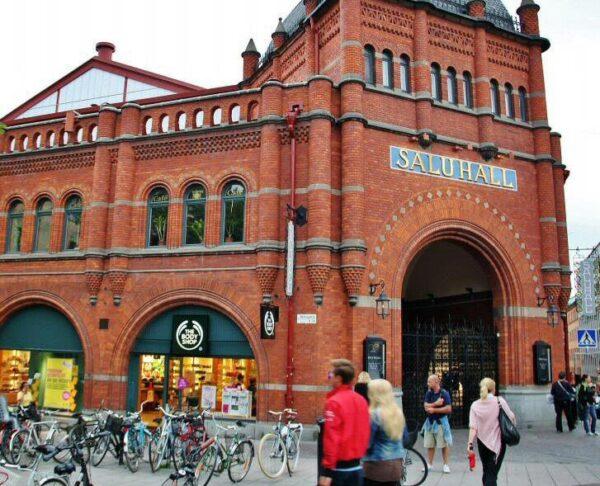 Mercado Saluhall de Ostermalms en Estocolmo