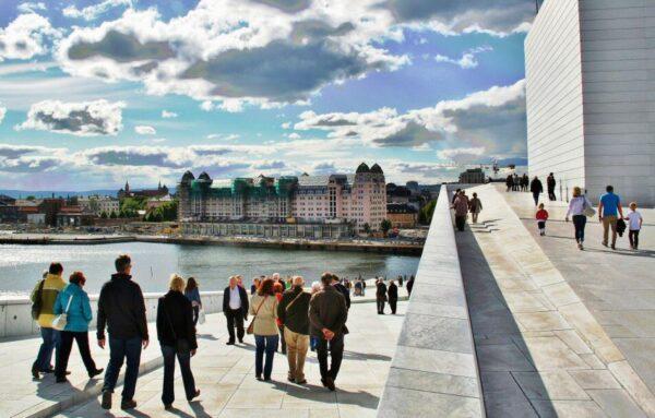 Opera de Oslo en Noruega