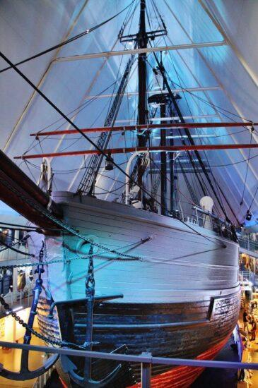 Museo Fram en Oslo en Noruega