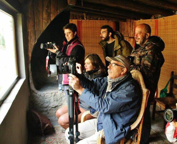 Hide para fotografía ornitológica en Hostal Almanzor en Gredos