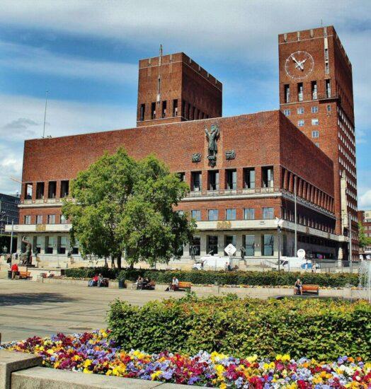 Ayuntamiento de Oslo en Noruega