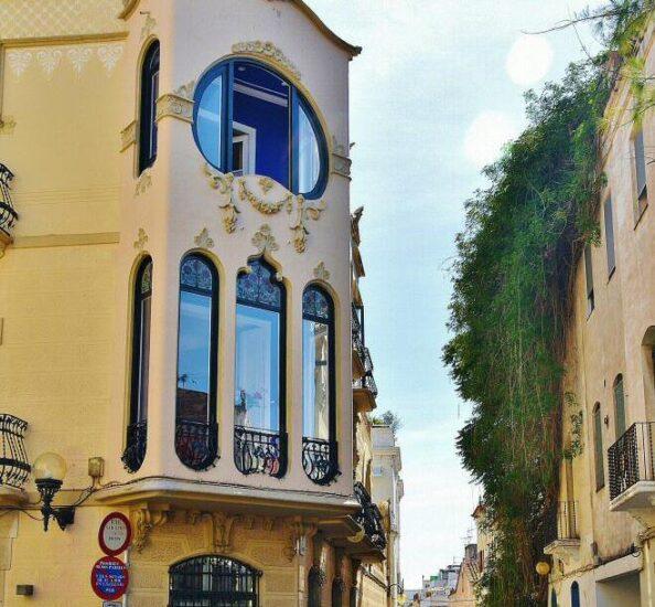 Edificio modernista en Sitges