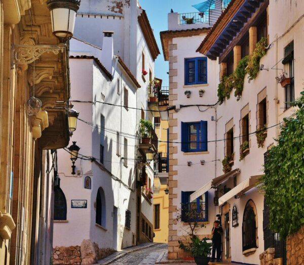 Casas de pescadores en Sitges