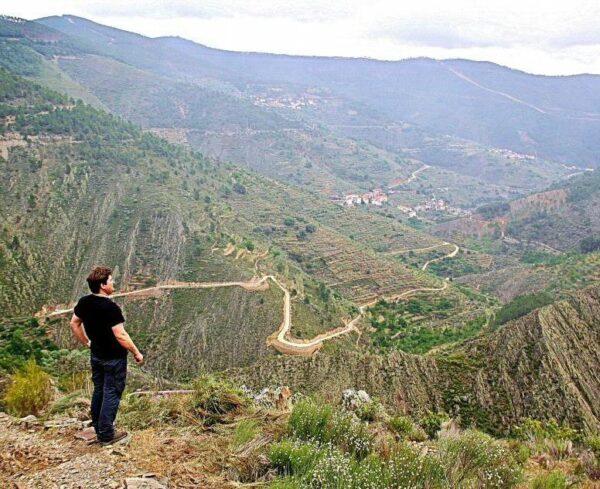 Mirador del Cerro en Las Hurdes en Cáceres