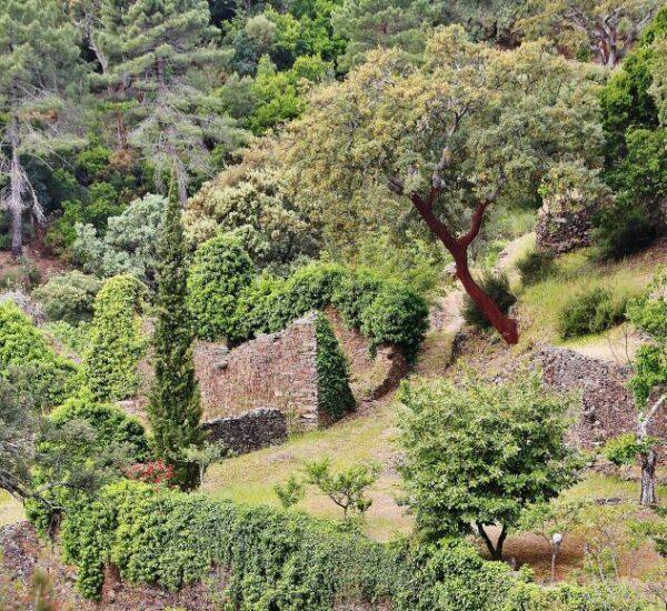 Restos del Convento de los Ángeles en Las Hurdes en Cáceres