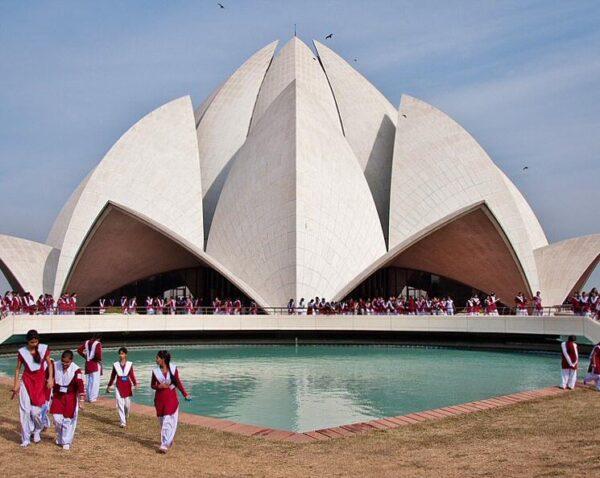 Templo del Loto en Delhi en la India @Foto: Carmen Teira