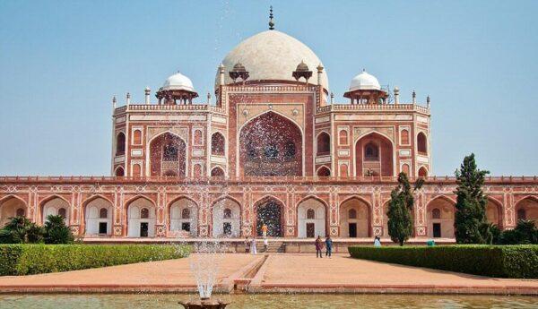 Tumba de Humayun en Delhi en la India @Foto: Carmen Teira