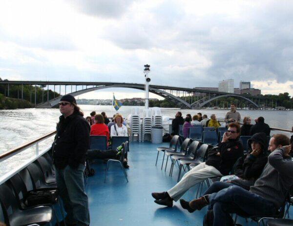 Crucero por los alrededores de Estocolmo