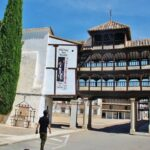 Plaza Mayor de Tembleque en Toledo en Castilla-La Mancha