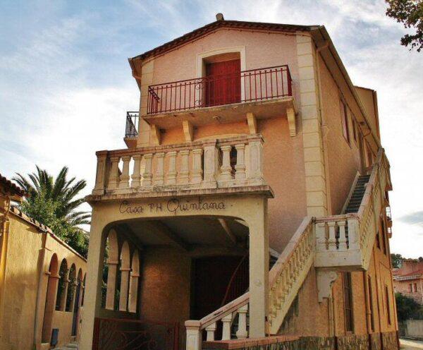Casa residencia de Antonio Machado en Collioure en Perpiñán