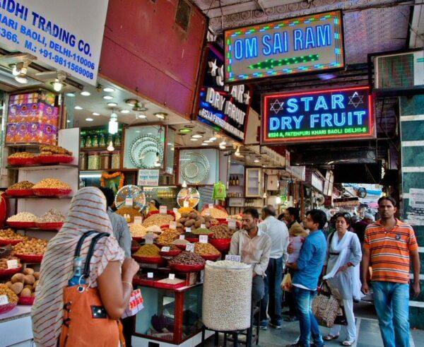 Vieja Delhi en la India @Foto: Carmen Teira