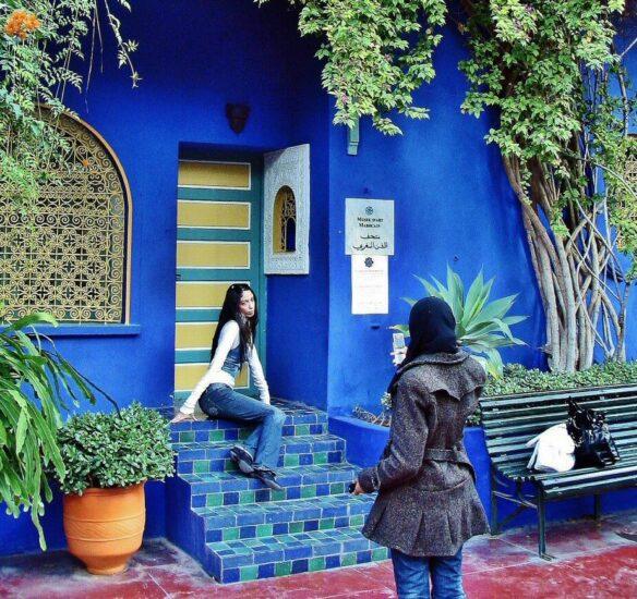 Jardín Majorelle en Marrakech