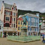 Rincón de Bergen en Fiordos de Noruega