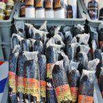 Embutidos en el mercado de Pescados de Bergen