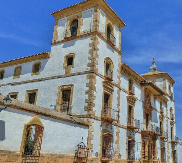 Palacio de las Torres en Tembleque en la provincia de Toledo
