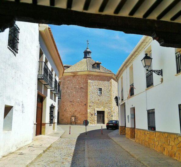 Ermita de la Veracruz en Tembleque en la provincia de Toledo