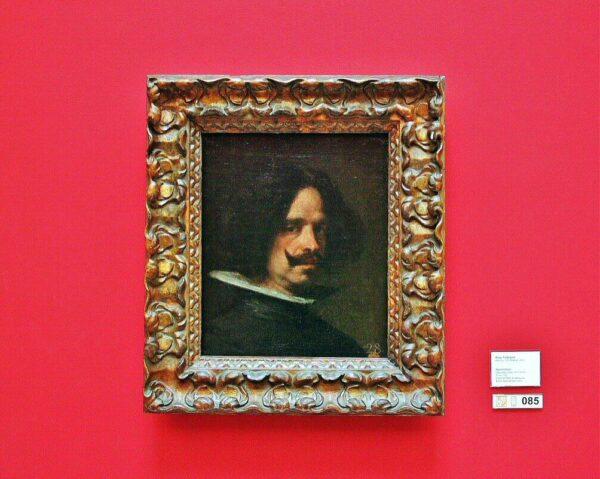 Autorretrado de Velázquez en el museo de Bellas Artes de Valencia