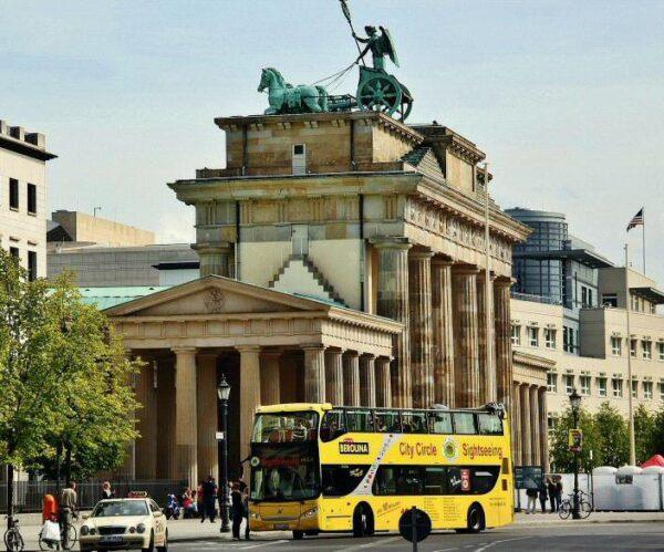 Puerta de Brandenburgo en Berlín