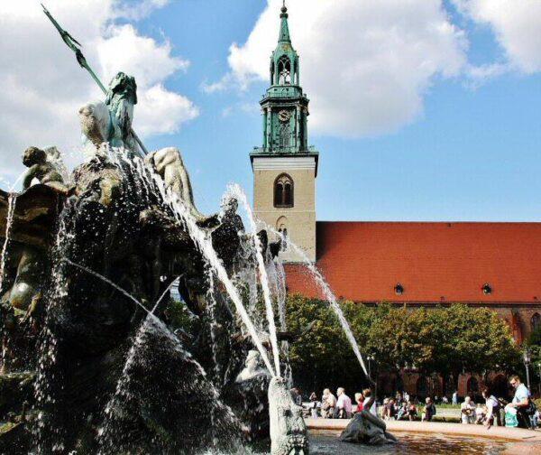 Alexanderplatz en Berlín