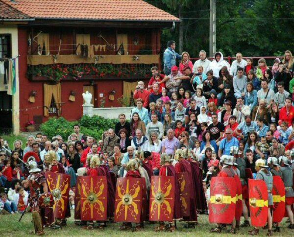 Guerras Cántabras en Corrales de Buelna en Cantabria