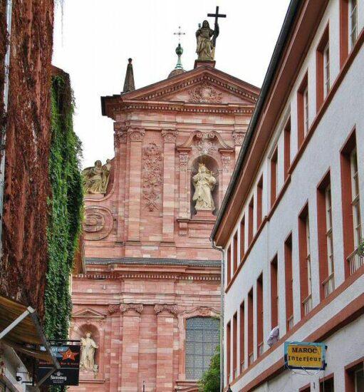 Iglesia Jesuita en Heidelberg