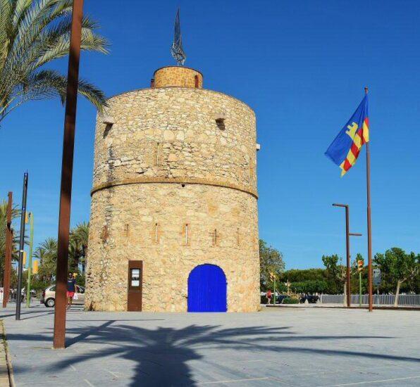 Vilanova y la Geltrú cerca de Barcelona