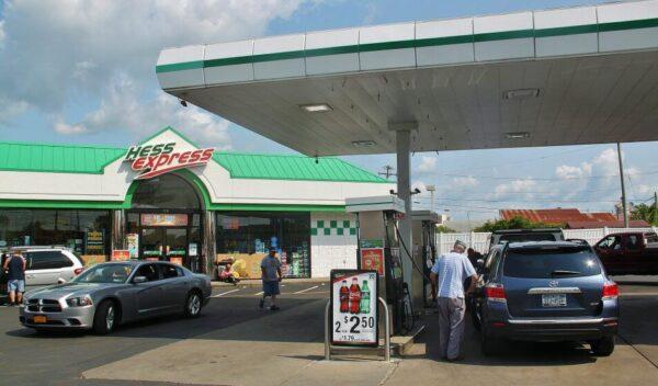 Gasolinera en Estados Unidos
