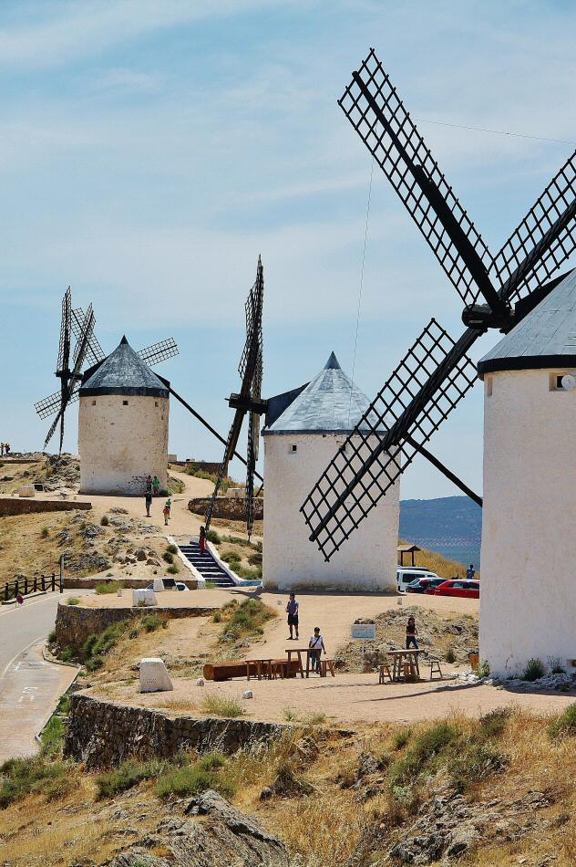 D nde ver molinos de viento en la mancha gu as viajar for Oficina virtual castilla la mancha