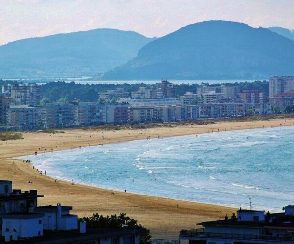 Playa de Laredo en Cantabria