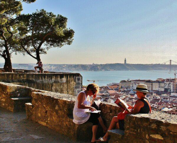 Castillo de San Jorge en Lisboa