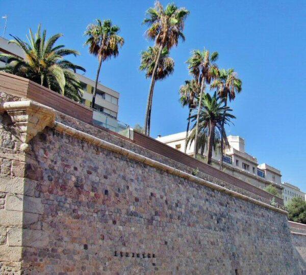 Muralla Marítima de Cartagena en Murcia