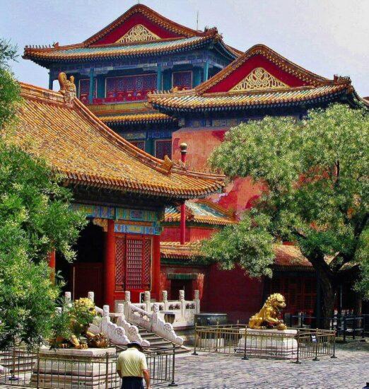 Palacio Imperial de Pekín en China