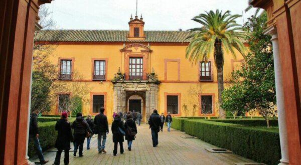 Entrada al Real Alcázar de Sevilla