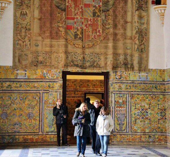 Rincón del Real Alcázar de Sevilla