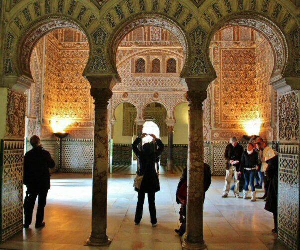 Salón de Embajadores en el Real Alcázar de Sevilla