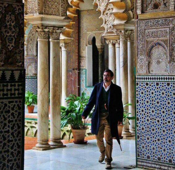 Rincón del palacio de Pedro I en el Real Alcázar de Sevilla