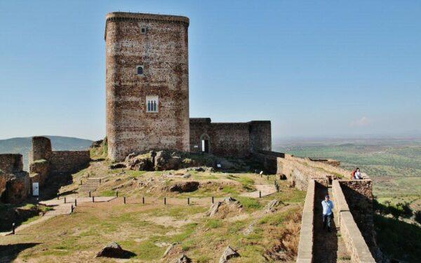 Castillo de Feria en Badajoz en Extremadura