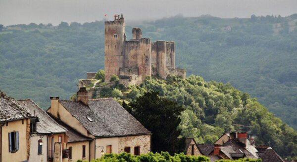 Najac en Occitania al sur de Francia