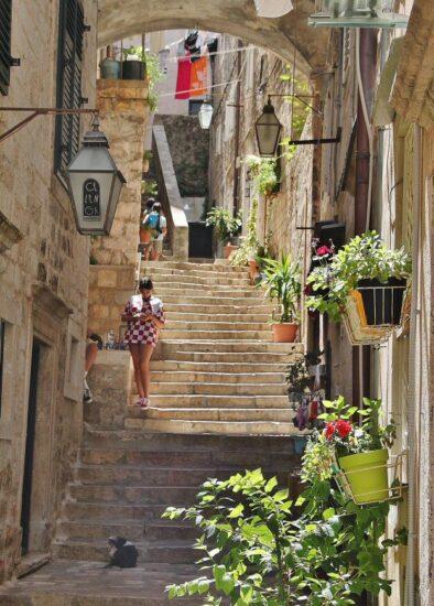 Ciudad Vieja de Dubrovnik en Croacia